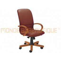 FAUTEUIL DIRECTION MIRAGE CUIR