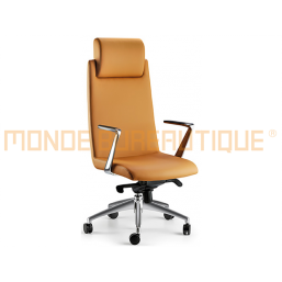 FAUTEUIL DIRECTION BOST CUIR